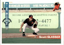 1997 High Desert Mavericks Grandstand #9 Scott Glasser Huntington Beach CA Card