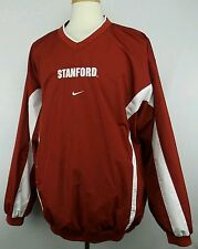 Vintage Nike Team NCAA Stanford  Pullover Jacket Size Adult XL