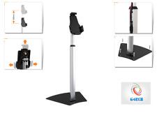 Black Floor Stand Mount Holder Adjustable Bracket Bed For All Apple iPad Samsung