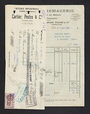 "VARS (16) LAITERIE FROMAGERIE / CAMEMBERT & BEURRE ""CARTIER & PESTRE"" en 1930"