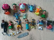 Disney McDonalds Lilo and Stitch Figures and a Cake Topper