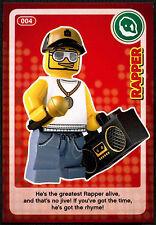 Rapper #4, Sainsbury's Create The World Lego Minifigures Card (C381)