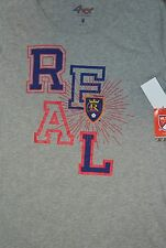 Real Salt Lake Women's Fireworks V-Neck T-Shirt  - MLS Woman Size M  NWT