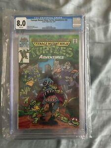 Archie Adventure Teenage Mutant Ninja Turtles Adventures #25 CGC 8.0