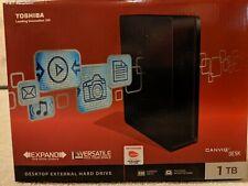 Toshiba Canvio 1TB,External, USB 3.0 (HDWC110XK3J1) Hard Drive