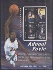 Z834. Canouan - MNH - Sports - Basketball - Adonal Foyle
