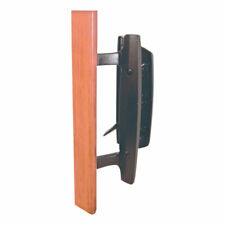 Prime-Line  Patio Door Handle Set  Wood/Brown  Die-Cast