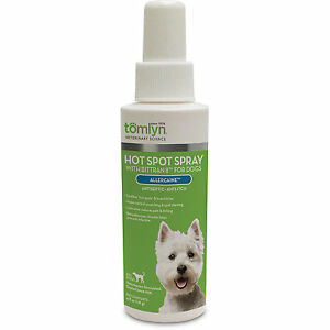 Tomlyn Hot Spot Spray with Bittran II for Dogs 4oz Free Shipping
