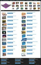 DIGITAL DOWNLOADS SHOP WEBSITE FOR SALE! 135+ PRODUCTS WITH 100% RESELL RIGHTS