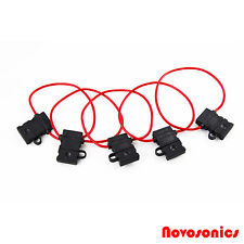 Novosonics NS-ATCFH14-5 14 GA ATC Fuse Holder 12 Volt  Waterproof  - 5 Pack
