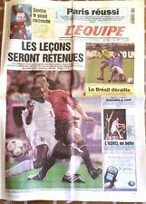L'Equipe Journal 30/3/2001; Daehlie le géant raccroche/ Le Brésil déraille/ ASVE