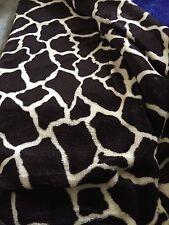 Giraffe Animal Print Blanket Bedding Throw Fleece Queen Super Soft Ship Same Day