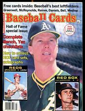 Baseball Cards Magazine July 1989 Mark McGwire w/Mint Cards jhscd4