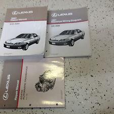 1997 Lexus ES300 ES 300 Service Repair Manual Set OEM W EWD & Transmission Bk