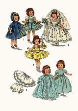 "Alexander-Kins Ginny Muffie Littlest Angel Susan 10"" Doll Clothing PATTERN 2294"