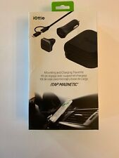 NEW iOttie ITAP Magnetic Car Air Vent Mount and Charging Kit - Black
