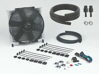 "Transmission Oil Cooler 30 Plate & 10"" Fan Combo Fitting Kit (6R80) (#691+#1006)"
