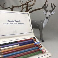 Complete Set PICCOLO Vintage Pencils from the Black Forest of Germany