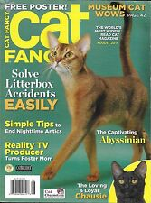 Cat Fancy magazine Abyssinian Chausie Litterbox solutions Foster mom Stop antics
