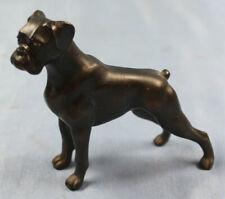 boxer bronze dog hund dogge bronce 2
