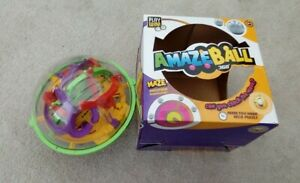 Amazeball 360. Addictive hand held puzzle in box  (from the entertainer) good co