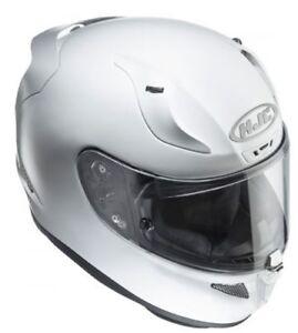 HJC RPHA 11 Motorrad Integralhelm+getöntes Visier +Pinlock Pearl White Gr. XXS