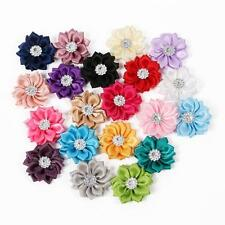 20pcs/Lot Baby Kids Girls DIY Flowers For Headband Hair Accessories Corsage