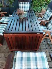 Gartenmöbel 20 Teile Teak + Eukalyptus