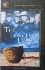THE LONGEST DAY (INGEKLEURDE VERSIE)  - VHS (cassette sealed)