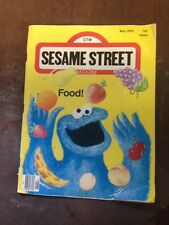 Vintage Sesame Street Magazine Food May 1979 CTW Nina Link Deborah Kovacs Muppet