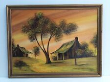 "Vintage Painting By David Vega ""Dune At Dubbo"""