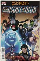 War of the Realms New Agents of Atlas #1 1st Print Luna Snow Aero Wave Crescent