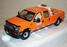 """Ford F250 Truck - Crew Cab - """"IOWA DOT ORANGE"""" 1/34 - FIRST GEAR"""