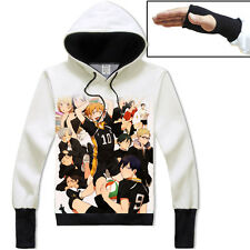 Anime Haikyuu Hinata/tobio Unisex Jacket Cosplay Hoodie Coat Cosplay#41-N35