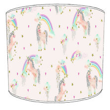 Children`s Unicorns Lampshades, Ideal To Match children`s unicorns Duvet covers