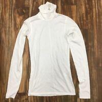 New Rag & Bone / Jean Base Turtleneck long sleeve Color: Ivory Size:X-Small -1