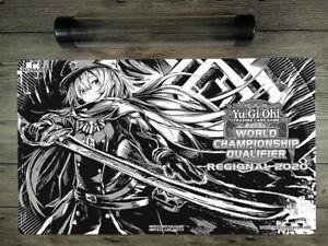 2020 YuGiOh Black Sky Striker Ace - Roze Custom TCG WCQ Playmat Free Best Tube