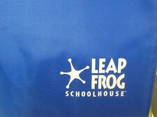 Leap Frog Schoolhouse Quantum Pad Learning System.  With 3 books/ backpack