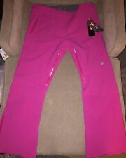 NWT Spyder TRAVELER Ski PANTS Womens 18 Long $350