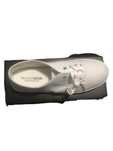 White Closed Toe Womens Shoe