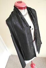 WITCHERY Black 100% Pure SILK TOP Size M 14 BNWT NEW Vest Shrug Evening Cocktail