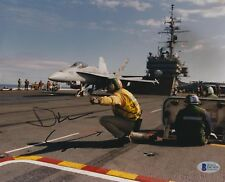 Drew Carey Signed 8x10 Photo BAS COA US Navy Aircraft Carrier Picture Autograph