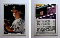 Ryan Hawblitzel Signed 1993 Topps #648 Card Colorado Rockies Auto Autograph