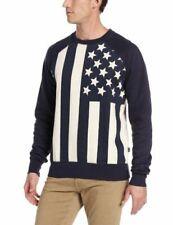 Company 81 Raglan Flag Print Crew Sweatshirt Nwt Mens size XXL