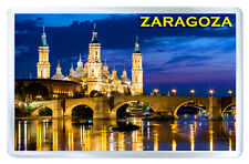 ZARAGOZA ESPAÑA MOD2 FRIDGE MAGNET SOUVENIR IMAN NEVERA