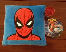 Amazing Spider Man Vintage Pillow, Plate and Cup
