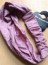 A Dusky Pink Bandana Type Head/Hair Band