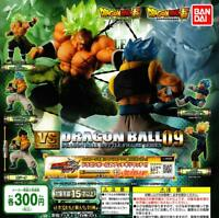 BANDAI Dragon Ball super VS Dragon Ball 09 Gashapon 5 set mini figure capsule