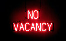 SpellBrite Ultra-Bright NO VACANCY Sign (Neon look, LED performance)