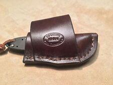 Custom Leather Crossdraw Sheath for Kershaw Ken Onion Leek Design Knife